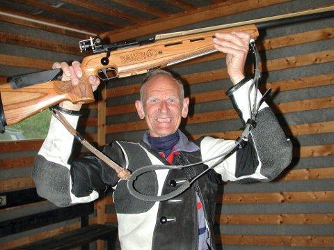 Odd Kolsrud er tildelt Sør-Aurdal kommunes kulturpris for sin innsats på skytterbanene.