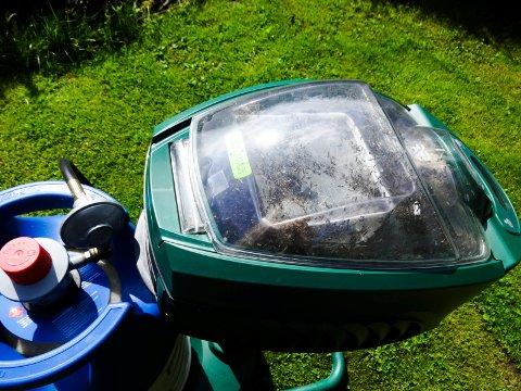 TRANGT: I denne myggmaskinen begynner det å bli trangt om plassen. Foto: Tina Oppen