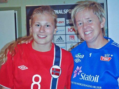 VIL TIL EM: Cesilie Andreassen ønsker å være med på Gøril Kringens J19-landslag og spille EM-sluttspill.Foto: Yngve Paulsen