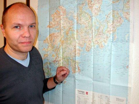 Næringskonsulent Karl Erik Nystad i Vestvågøy kommune.