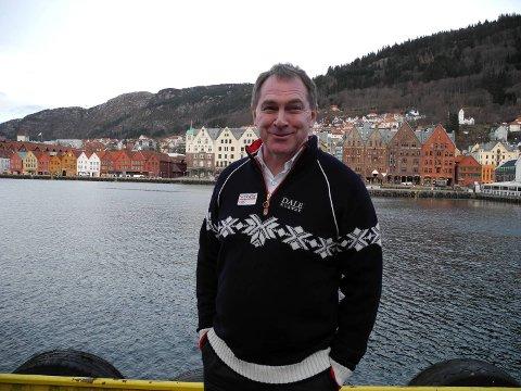 Inge Andersen fra Håkonshella jobber for et OL til Oslo.
