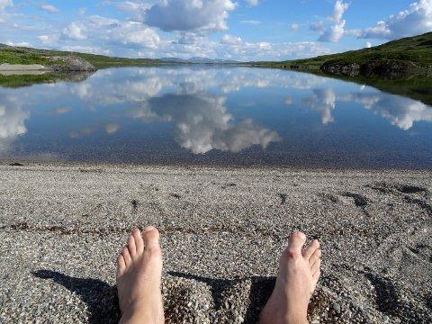 Børgefjell: ? Du herlige Børgefjell, sier Bjørn Ivar Lamo og viser oss et bilde fra en flott tur en vakker sommerdag.