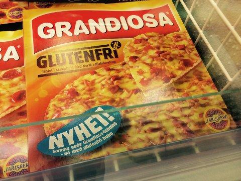 ALLERGIKER?: Én ingrediens i denne pizzaen er uheldig for peanøttallergikere.