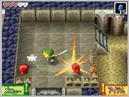 SOM VANLEG: Finne skattar og kjempe mot søte vesen. Alt er som det skal vere i eit Zelda-spel.