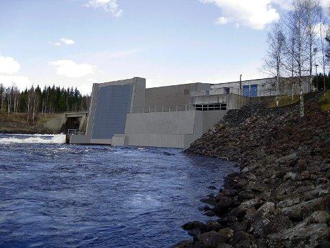 SLIK BLIR DET: Slik blir det seende ut nedenfor Svartfossen når det nye aggregatet er på plass. FOTO: EIDSIVA
