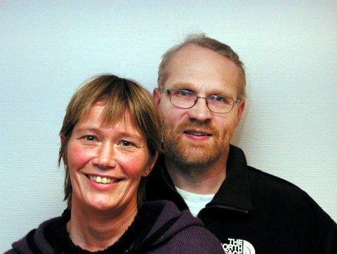 Siri Kobberrød og Knut Kastnes