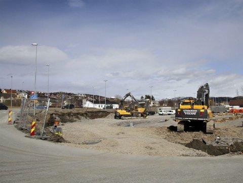 Rema. Stig Otto Nilsen og Stadssalg er i gang etter over ti års krangling med kommunen om bygging av ny Rema på Bertnes.