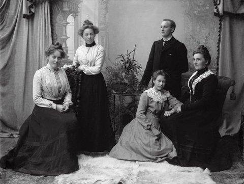 c2d6fba2 GJØVIKS FØRSTE: Klara Haugom var Gjøviks første kvinnelige kommunestyre  representant og en foregangskvinne også på