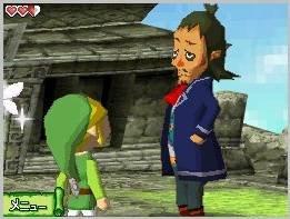 3D: Spelet nyttar teiknefilmaktig 3d-grafikk. Det ser svært bra ut på den vesle DS-skjermen.