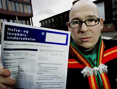 FORSKER: Ketil Lenert Hansen ved Universitetet i Tromsø har også funnet at homofili er et tabubelagt tema hos mange samer.