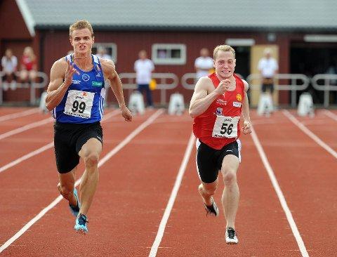 Florø-gutten tok gullet på den korteste sprintdistansen.