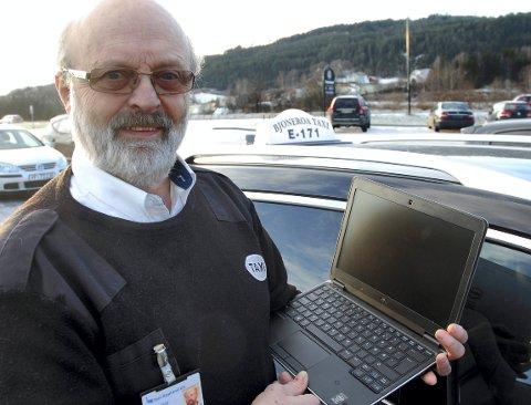 Fortvilet: Ole Kristian Skaarer i Bjoneroa.