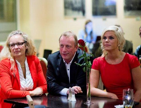 Ruth Grung, Per Rune Henriksen og Jette Christensen følger fylkespartiets årsmøtevedtak og sier nei til OL i Oslo. Det er åpent hva Ap-ledelsen i Oslo vil.