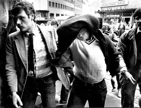 DRAPSMANN: Stein Gulbrandsen er 32 år gammel når han i 1983 gjør seg til byens mest forhatte drapsmann. Gulbrandsen dreper en fem år gammel jente og graver henne ned i hagen sin i Løbergsveien.