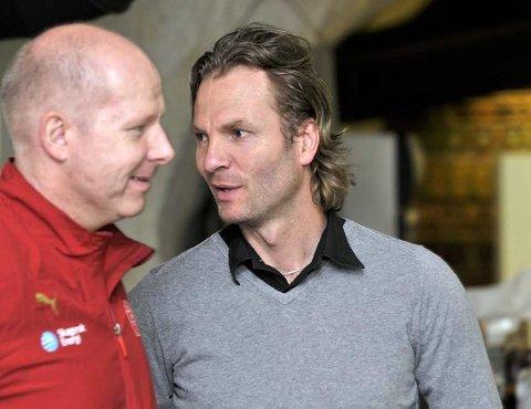 Motivator: Kjetil Kristoffersen har hatt et nært samarbeid med Karl Erik Bøhn gjennom flere år. Nå bruker Bøhn næringslivsesset som motivator for larviksjentene.
