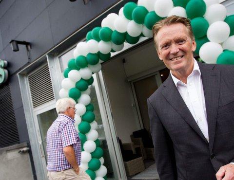 FORTSATT POTENSIAL: Bjørn Henry Maarud tror på fortsatt vekst for Europris i åra som kommer.