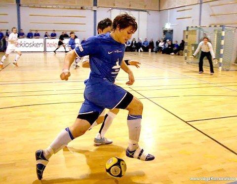 LANDSLAGET: Fire spillere fra Vegakameratene er tatt ut i en foreløpig tropp til EM-kvalik i futsal. (Foto: Vegakameratene.no)