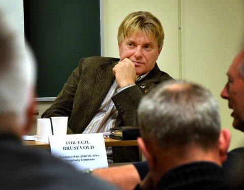 GÅR AV: Hvis Thor Erik Forsberg får fornyet tillit av Sarpsborg Ap, sier lokallagsleder Tor Egil Brusevold at han kommer til å gå av som leder etter neste årsmøte. (Foto: Halvor Titlestad)