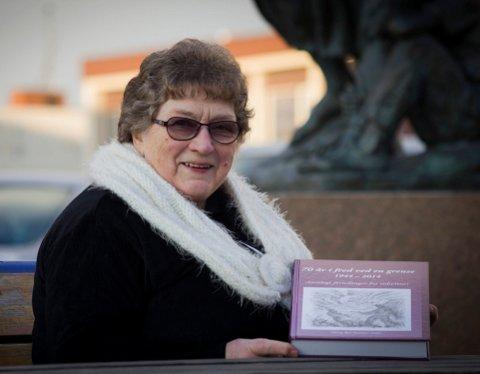 LITE KJENNSKAP: Folk vet for lite om hva som skjedde i Finnmark under krigen. Det mener lokalhistorie-entusiast Olaug Bye Gamnes (79). Hun har samlet tidsvitners beretning i en bok.