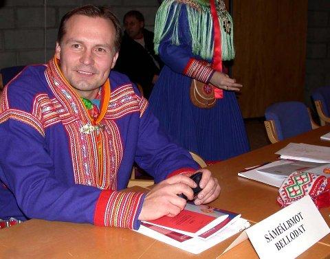 Klemet Erland Hætta (NSR) mener at samiske barn må få en lovfestet rett til barnehageplass.