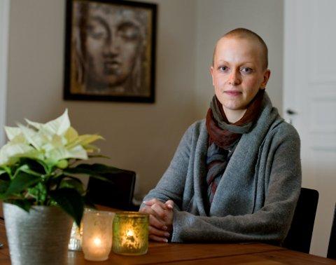 Desember 2012: Marte Thoresen er snart ferdig med cellegiftbehandlingene.