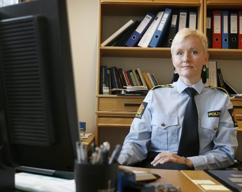 HAR OVERSIKT: Fungerende politimester Mona Hertzenberg sier politiet har kontroll på de høyreekstreme miljøene på Romerike. FOTO: KAY STENSHJEMMET