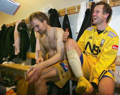 Kostbare redningsmenn. Erik Hoftun og Harald Brattbakk.