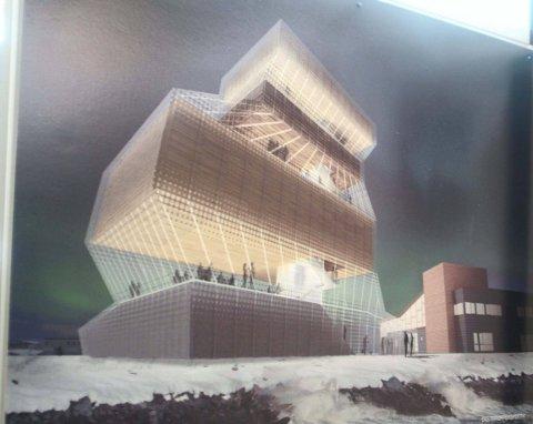 DYRT: Arbeidet bak denne tegningen kostet sju millioner kroner. Pengemangel stanset prosjektet «Object of Ideas» i 2011.