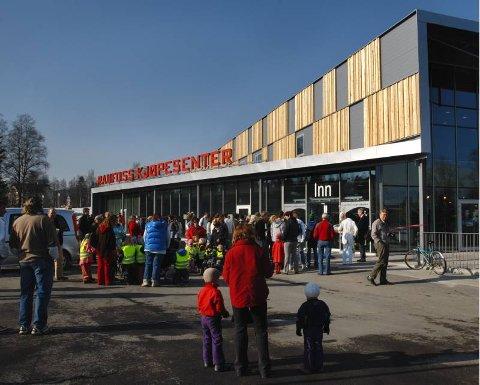 Åpning av Raufoss Kjøpesenter