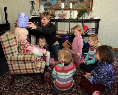2db7830b PRINSESSE: Ssit tirsdag fylte Kaja fire år. Hun fikk besøk av Gry Coldevin  og