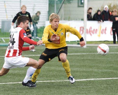 Martin Bjørnbak var til tider stor i cupkampen mot Tromsø forrige sesong, nå kan han få sjansen til å spille for Tromsø. Foto: Trond Kenneth Larsen