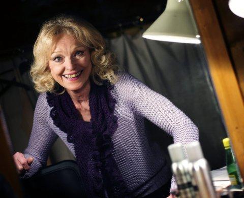 VIL IKKE GI SEG: Skuespilleren Sidsel Ryen har fylt 70, men vil ikke gi seg til tross for alderen. Nå har hun blitt nominert som Årets romeriking for sine mange roller både på scene og skjerm.Foto: Martin Lundsvoll