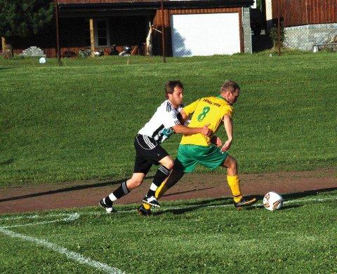 Som regel er Thomas Wium en kriger på midtbanen, men mot Fevang var han goalgetter. Her fra en kamp tidligere i sesongen.