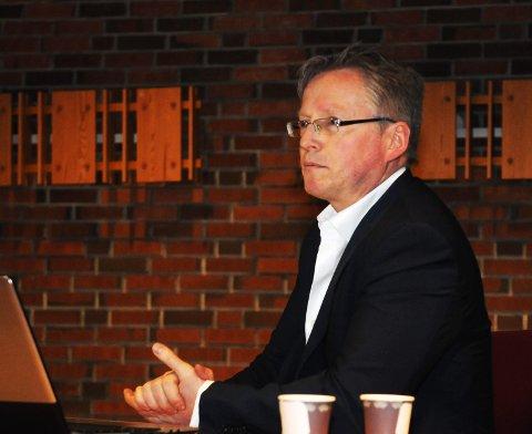 Direktør Gaute Juliussen i Norwegian Graphite.