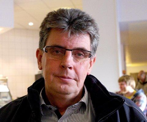GOD UKE: Terje Danielsen ved Coop Røros forteller om en flott omsetning den siste uken før jul. (Foto: Tonje Hovensjø Løkken)