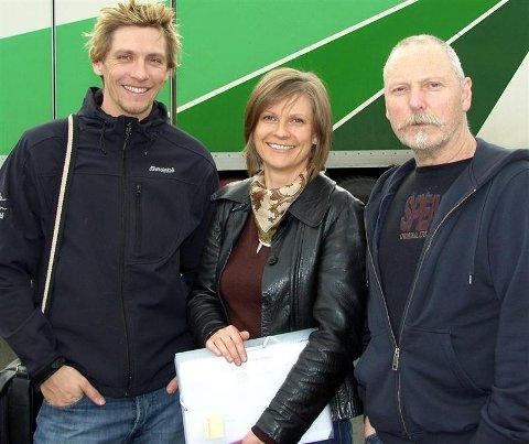 ¿ Averøydagene vil garantert ha noe for en hver smak, lover museumsstyrer Bjørnar Lundberg Bøe (til venstre), prosjektleder Maria Aastum og senterleder Alf Marius Røsand.