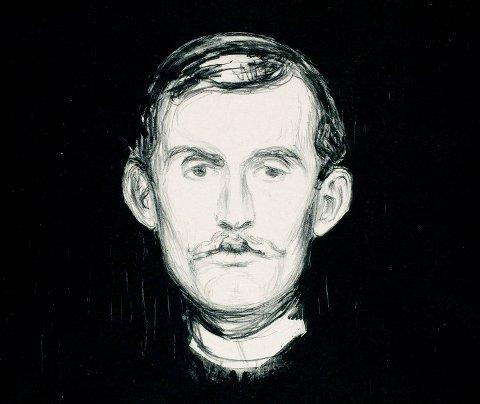 Edvard Munch, slik han så seg selv.