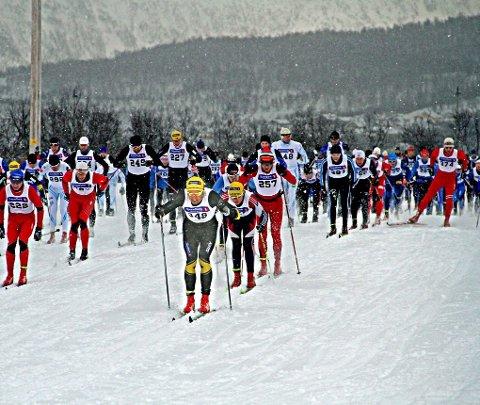 POPULÆRT: I sitt tredje år opplever Kvaløya skimaraton bedre forhånds- påmelding enn noen gang før. Foto: Magnus Joki Arild