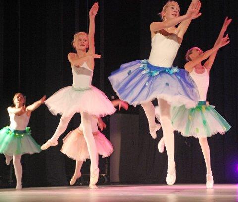 Danseglede og kroppsbeherskelse i skjønn forening da ballettdanserne inntok scenen.
