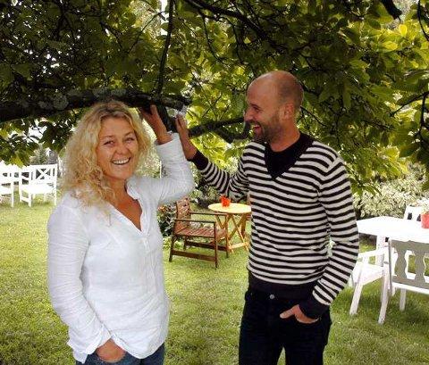Kveldsmat: Navnet Kveldsmat skal favne alt godt Elisabeth Holm og Jens Werner Andersen ønsker å servere i bakhagen på elleVilla.