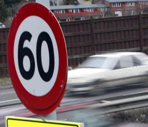 Svært fort. Sjåføren ble målt til 109 i 60-sonen på riksvei 80 ved Valle. Meddommerne frifinner likevel en 26 år gammel bilist, mot fagdommerens stemme. Illustrasjonsfoto