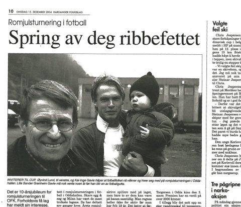 FRA DESEMBER 2004: Påmeldingsfristen nærmer seg og artikkelen melder om få påmeldte lag, mye har forandret seg siden den tid.