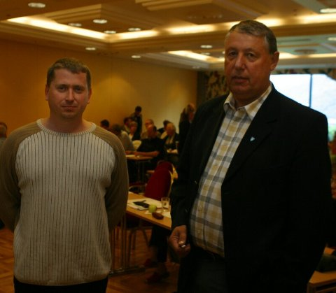 INNLEGG. Både ordfører Toralv Mikkelsen og LO-leder Nils Johan Ystanes holdt innlegg på konferansen.