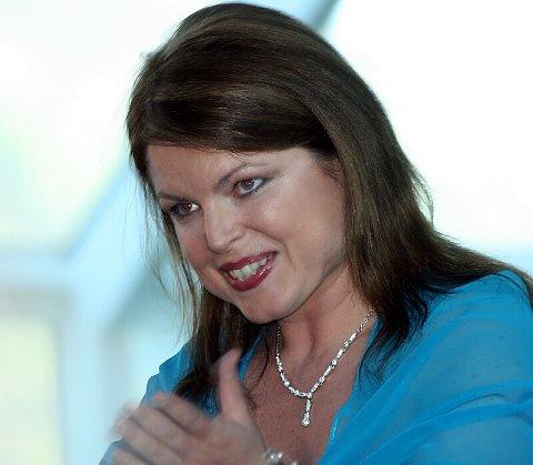 EI PERLE. Ann-Helen Moen viste imponerande variasjon i stemmeprakt og sjarm. Foto: Johs H. Sekse