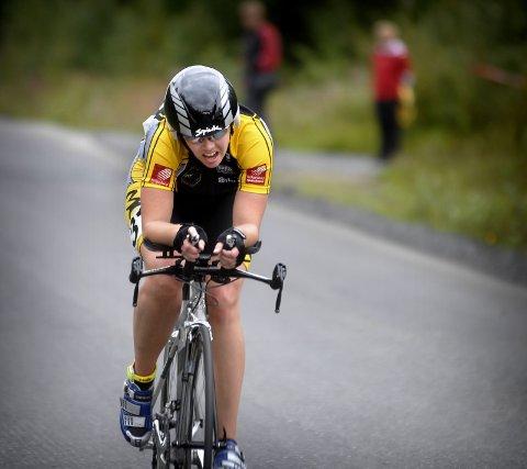 VANT: Camilla Gullhav Hatlen (Moc) vant sin klasse med klar margin.
