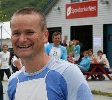 Lars kvåle var blid optimist før start.