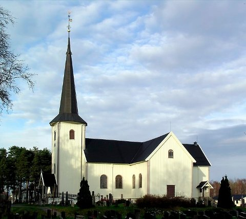 Gamle Våler kirke var en korskirke, ikke ulik Østre Porsgrunn kirke.