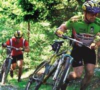 Suksess på sykkel i tøft terreng (forsidebilde)