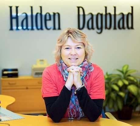 Trine Bakke har bare tre dager igjen i Halden Dagblad, men det er hun ikke noe særlig bekymret for.