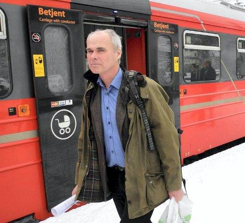 Lars Stendal i Jernbaneverket, kuriøst nok tidligere sjef for Bybanen.